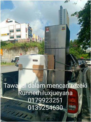 Transport pickup mover