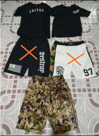 T-shirt and shorts all brand new