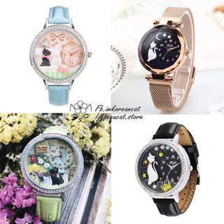 🎏mini手製軟陶動物手錶🐈