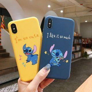 🚚 Stitch Iphone Casing