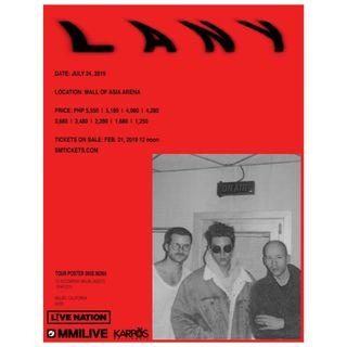 LOOKING FOR: LANY LIVE IN MANILA TICKET
