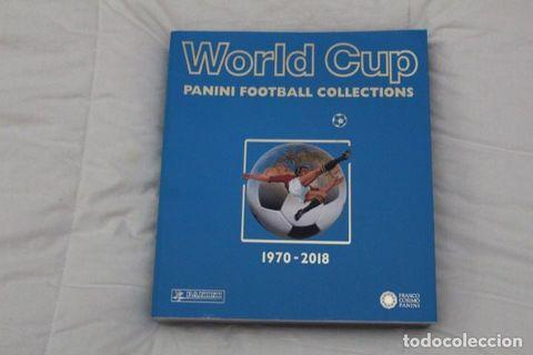 World Cup Panini Football Collections(1970-2018)