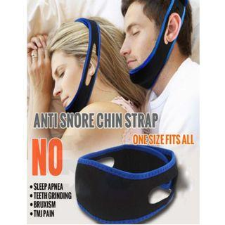 Adjustable Anti Snore Belt Sleeping Chain Strap Reduction System