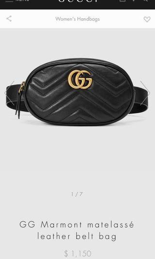 High quality Replica Gucci fanny pack