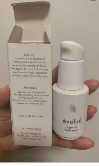 Evolue Super Oil 超級抗氧保濕精華油 30ml