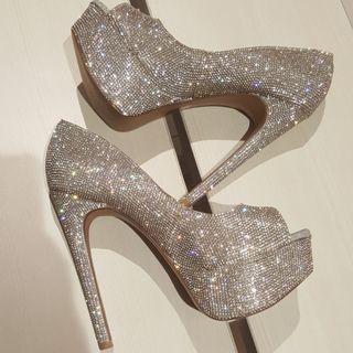 New - Steve madden dangerous crystal heels shoes
