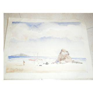 Ong Chye Cho's watercolour painting
