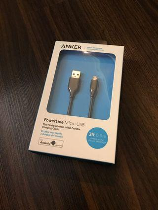 ANKER PowerLine Micro USB Cable