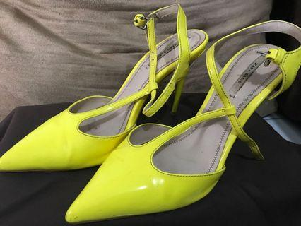 Zara - Yellow heels