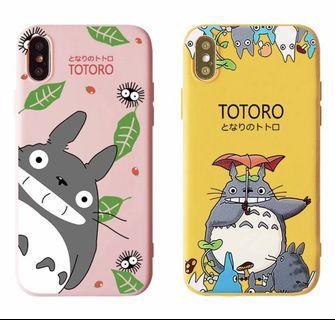 TOTORO SOFT CASE PINK YELLOW KUNING iphone 7+/8+ iphone7+/8+