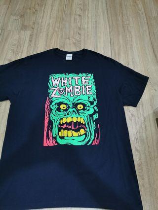 White Zombie T shirt