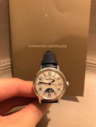 積家 JLC Jaeger-LeCoultre Rendez-Vous Mother of Pearl Ladies Watch 29mm Stainless Steel Diamond Automatic Day and Night Q3468490