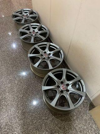 Stock / Factory (CTR) Type R Rims