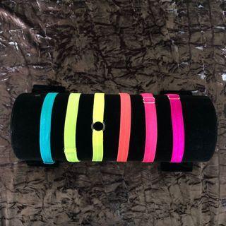 Neon headband / adjustable headband / neon hair tie