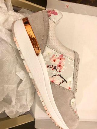 Ted baker sneakers floral shoes casual sporty size 39