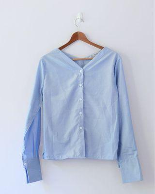 BNWOT Blue Shirt