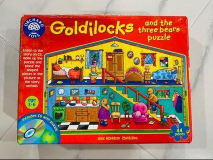 Goldilocks Orchard Toys Jigsaw Puzzle