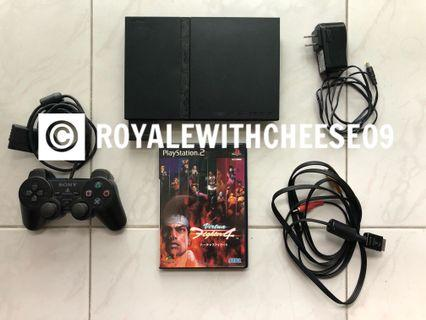 Sony PlayStation 2 PS2 Slim bundle