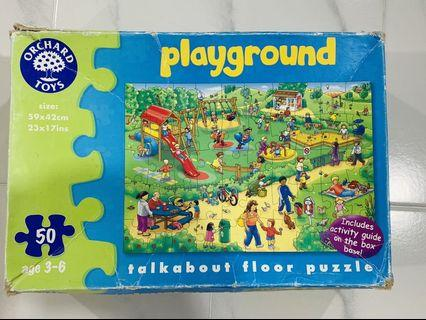 Orchard Toys Playground Jigsaw Puzzle