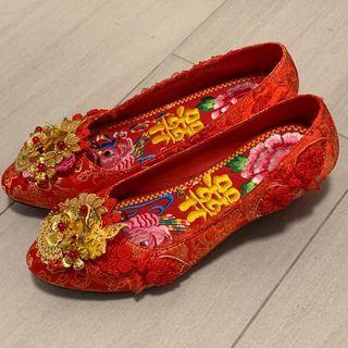 中式褂鞋 超新
