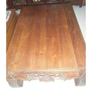 Balinese style coffee/oppium table