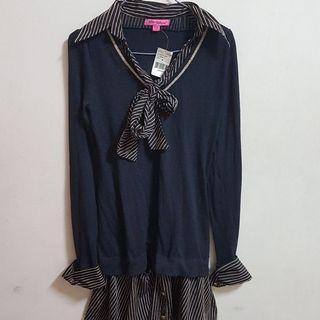 🚚 Betsey Johnson學院風洋裝