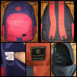 Authentic Billabong Backpack