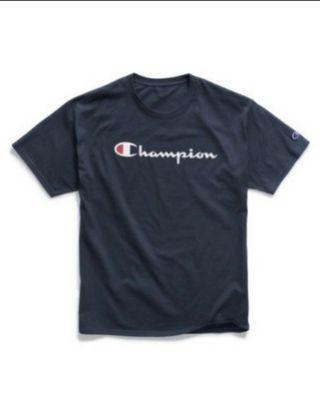 #PROMO# Champion Basic Script Tee
