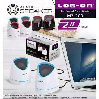 Speaker Komputer Log - On