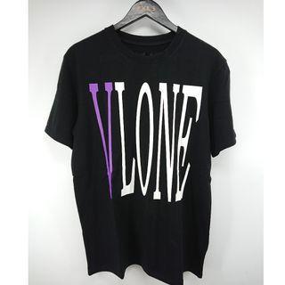 Vlone Staple Tee (Black/Purple) [S.M]