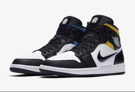 """Air Jordan 1 Mid """" Quai 54 """""""