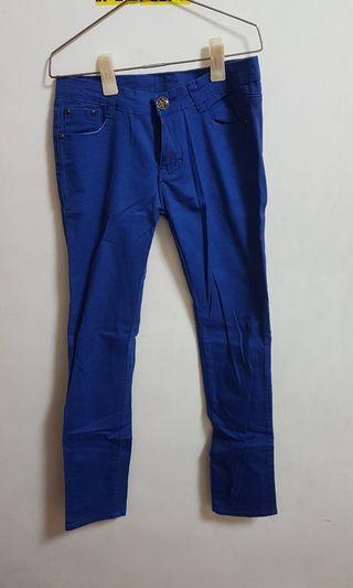 🚚 寶藍色長褲