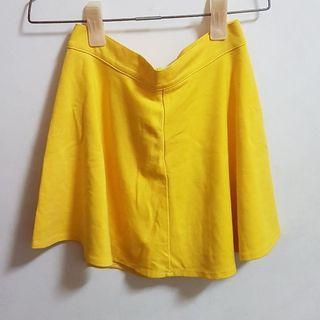 🚚 亮黃色短裙