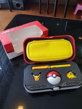 🚚 Lamy safari pokemon pikachu limited edition set
