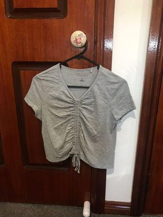 Forever new grey organic cotton top