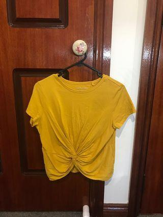 Forever new mustard top