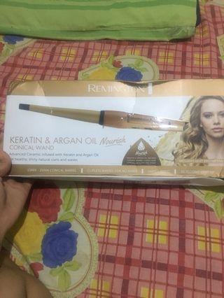 Remington keratin & argan oil nourish