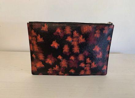 Givenchy Medium Blurry Floral Zip Pouch