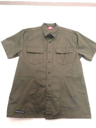 🚚 Army Green Short Sleeve Shirt