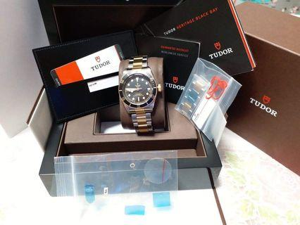 Tudor Blackbay Steel Gold 79733N