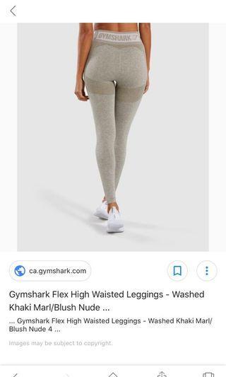 Gymshark- Flex Leggings