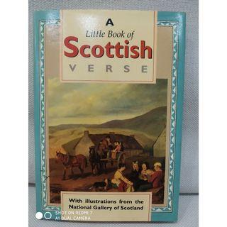 A little book of scottish verse. English. Literature. School. poetry. literature. scotland.