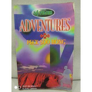 Adventures by Peck Soo Hong. English fiction book. School.