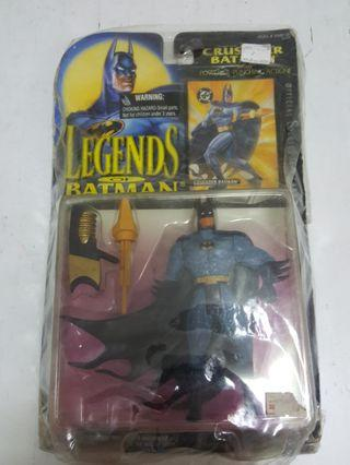 Kenner Classic 1994 Legends of Batman Crusader Batman