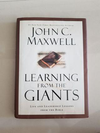 Learning from the giants - John C maxwell