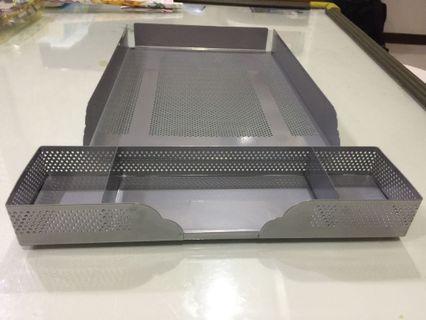 🚚 [全新]不鏽鋼文件(A4)文具收納組合