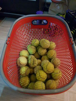 Used tennis balls - approx. 50 - good bounce