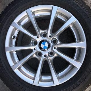 16 BMW rims and tyres