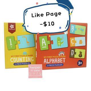 ‼️Like Page再減$10‼️ Pinwheel 幼兒面試必備 英文字母 | 數字 認知卡