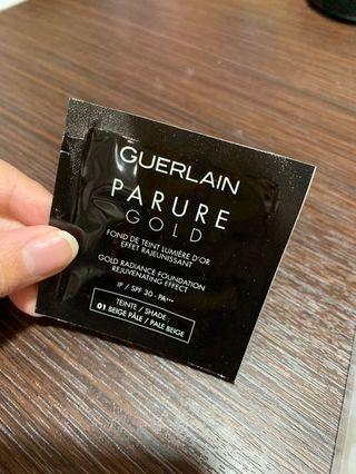 Guerlain 嬌蘭24k純金光粉底液 試用包